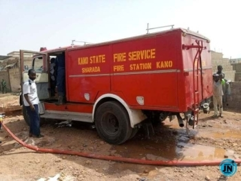 Kano Fire Service saves 122 lives, N81.3m in March